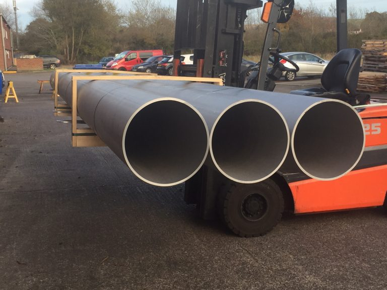 New deliveries of Large Super Duplex & Duplex Pipes